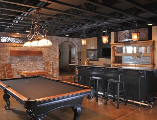 Bar & Wine Cabinetry 16