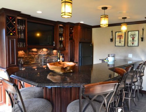 Bar & Wine Cabinetry 15