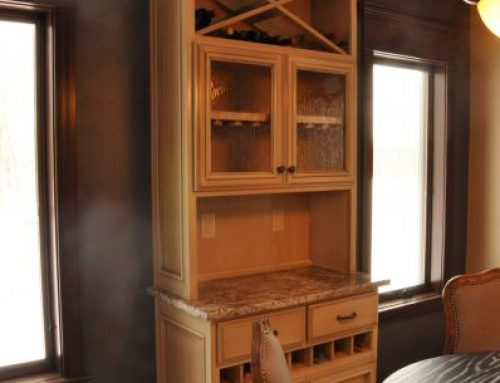 Bar & Wine Cabinetry 14