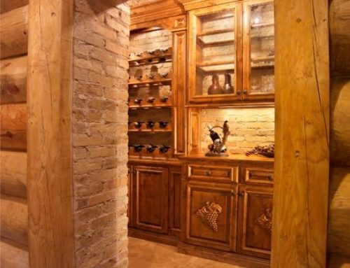 Bar & Wine Cabinetry 13