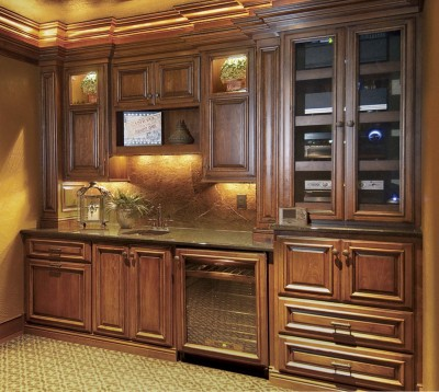 Theater Room Wet Bar