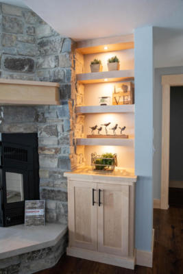 Built-In Cabinet with Shelving