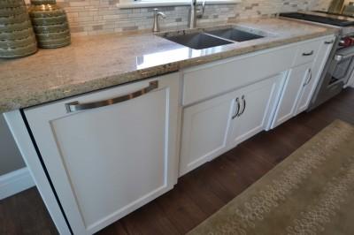 Paneled dishwasher